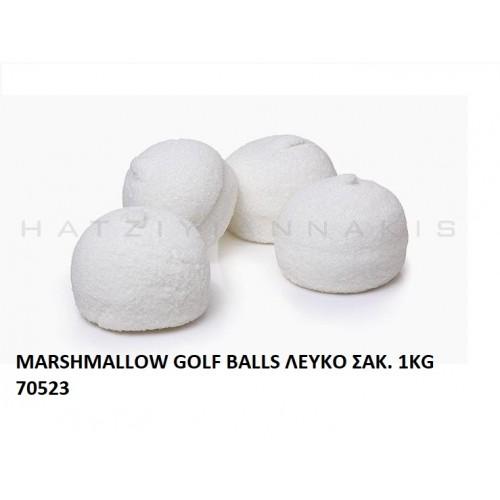 MARSHMALLOW GOLF BALLS ΛEYKO ''ΧΑΤΖΗΓΙΑΝΝΑΚΗ''  1KG 70523
