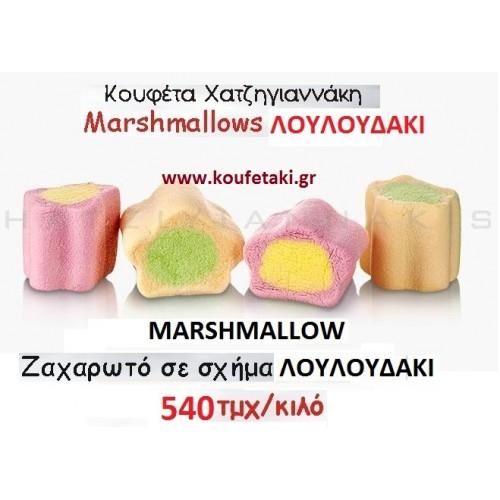 ΖΑΧΑΡΩΤΑ marshmallow ΧΑΤΖΗΓΙΑΝΝΑΚΗ ΛΟΥΛΟΥΔΑΚΙ